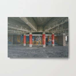 Panoramic Restaurant of Monsanto Metal Print
