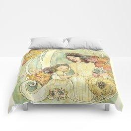 Spring Nouveau Comforters