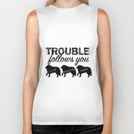 Trouble Biker Tank
