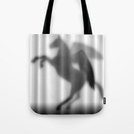 Pegasus Silhouette Tote Bag