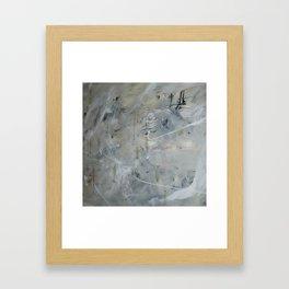 Earthy Abstract Framed Art Print