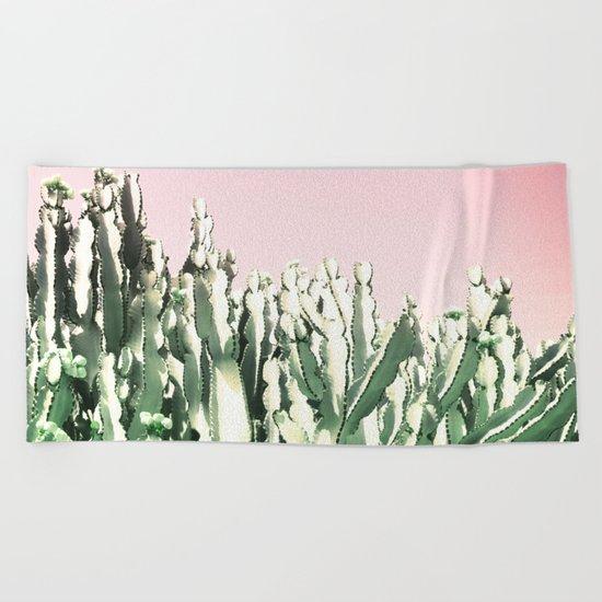 Cactus Cactus Beach Towel