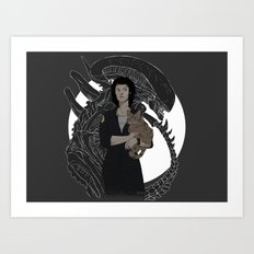 Alien Art Print