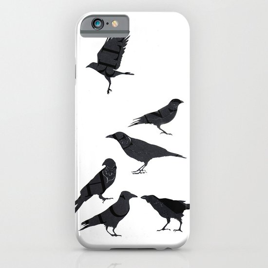 kargalar (crows) iPhone & iPod Case