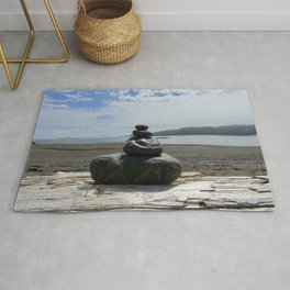 Finding Balance at the Beach Rug