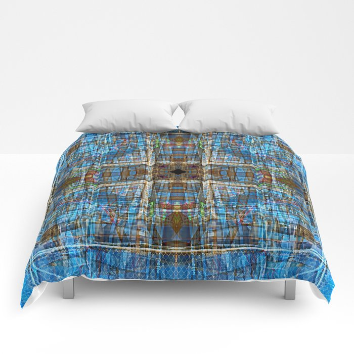 Plaid Construction Comforters