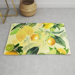 In the Lemon Orchard Rug