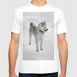 Quincy Sled Dog T-shirt