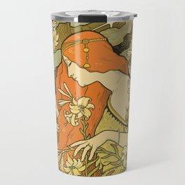 Art Deco Paris Travel Mug