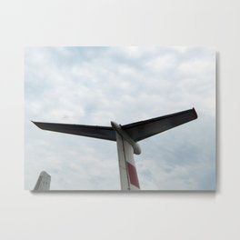 Civil and military aircraft in detail Metal Print