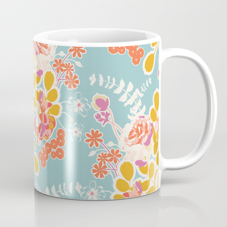 Spring Harvest Bouquet Coffee Mug By Bonniechristine Society6