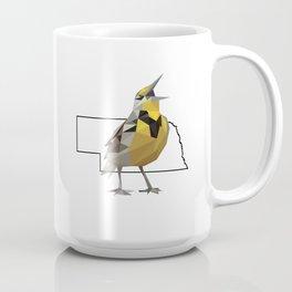 Nebraska – Western Meadowlark Coffee Mug