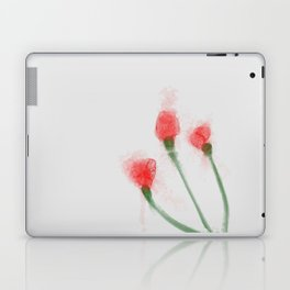 Red Buds Laptop & iPad Skin