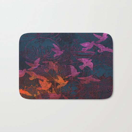 I want to fly away Bath Mat