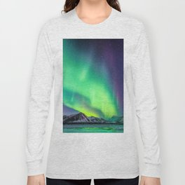 Northern Lights in Iceland Long Sleeve T-shirt