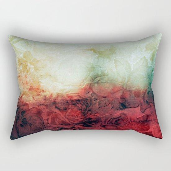 roses landscape Rectangular Pillow