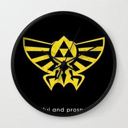 Hyrule Hero Wall Clock