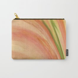 Delicate Peach Carry-All Pouch