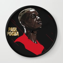 Pogba Wall Clock