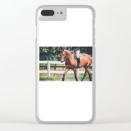 Trotting Bay Clear iPhone Case