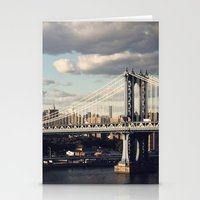 gotham Stationery Cards featuring Gotham by Michael Dulle