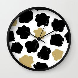 Geometric Pattern 9 Wall Clock