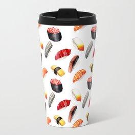 Sushi Pattern Travel Mug