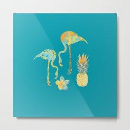 Tropical Kitsch II Metal Print