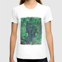 queer T-shirts featuring Queer Buddha ~ Wisdom II by Jamila