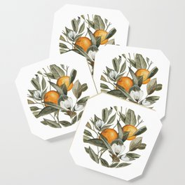 Orange Blossom Coaster