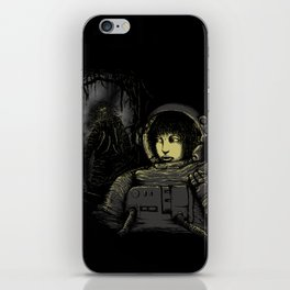 Space Horror iPhone Skin
