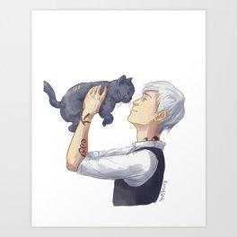 Jem and Church Art Print