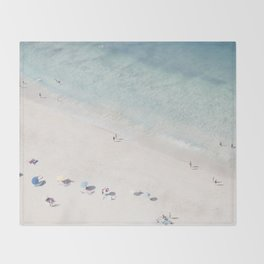 Summer Seaside Throw Blanket