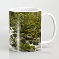 portlandia Mugs featuring Rios de Oregon 1 by Fernando Díaz
