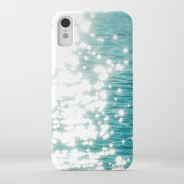 Sun glitter iPhone Case
