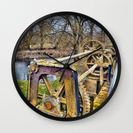 Altes Wehr Wall Clock