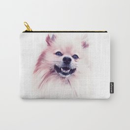 The Smiling Pomeranian Carry-All Pouch