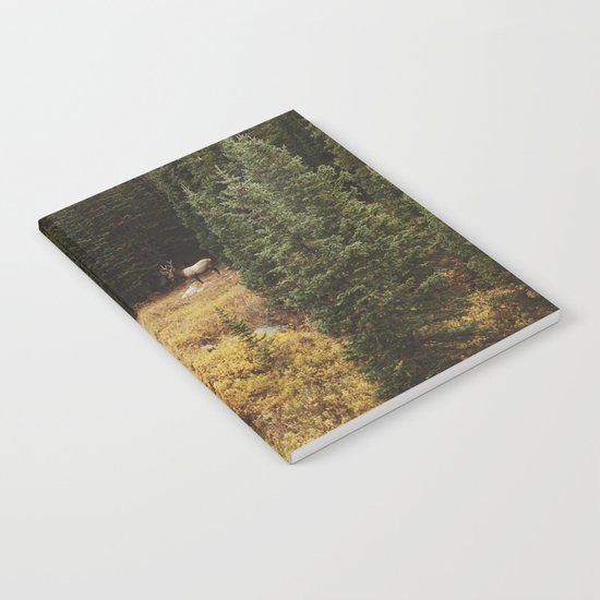 Rocky Mountain Creek Elk Notebook