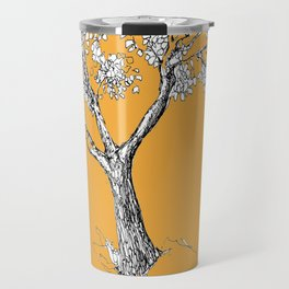 Tree and parrot Travel Mug