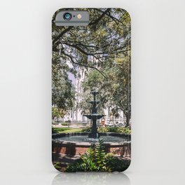 Lafayette Square - Savannah, Georgia iPhone Case
