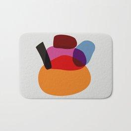 minimalistic japanese colorist Bath Mat