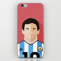 messi iPhone & iPod Skins featuring Messi by Mohammed Albassami