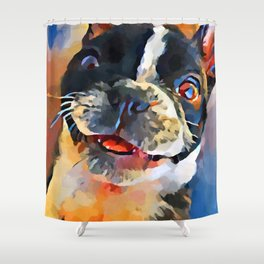 French Bulldog 8 Shower Curtain