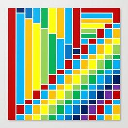 Fuzz Outline Canvas Print
