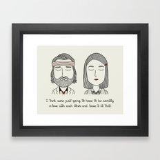 M & R Framed Art Print