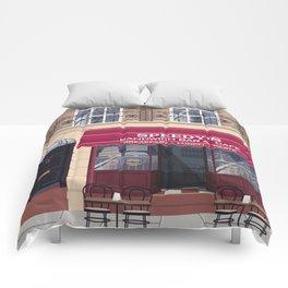 Sherlock in Baker Street Comforters