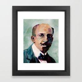 W.E.B. Du Bois Framed Art Print