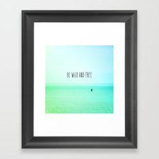 Wild and Free II Framed Art Print