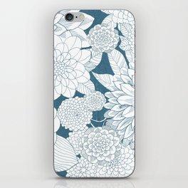 Blue Sketchbook iPhone Skin