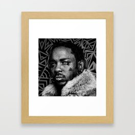 KENDRICK LAMAR--Pop Art II Framed Art Print